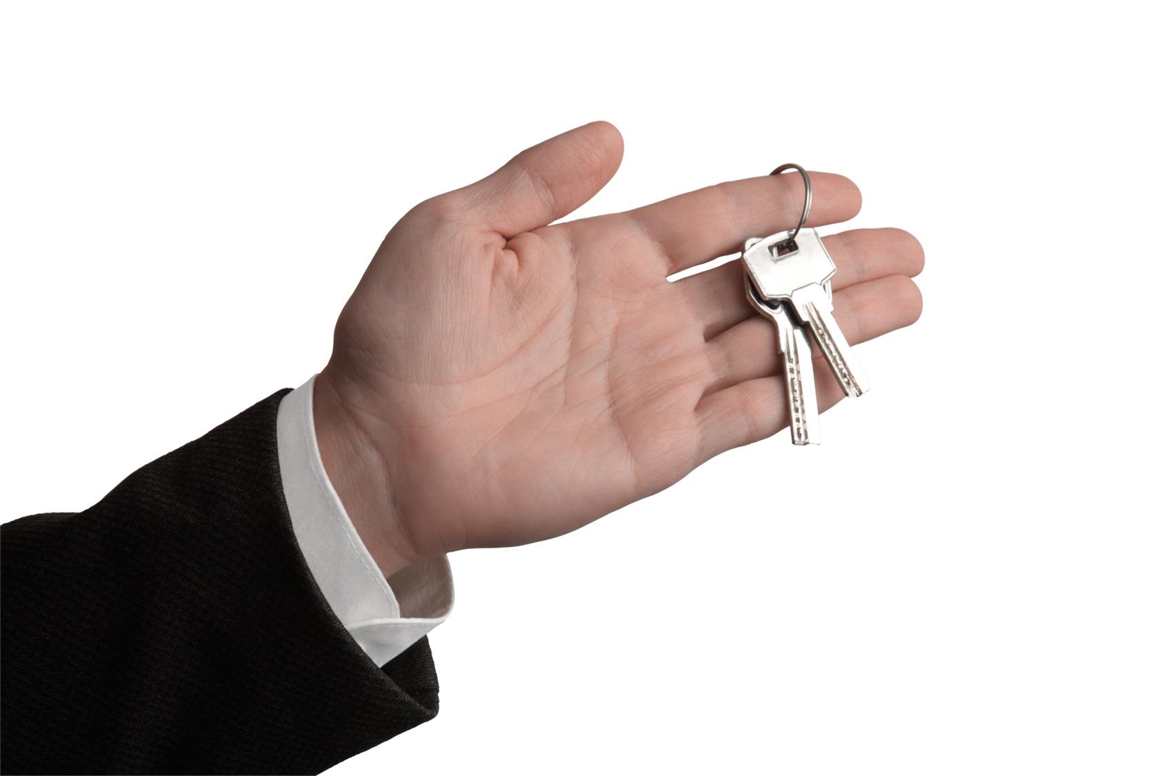 Handing the keys over